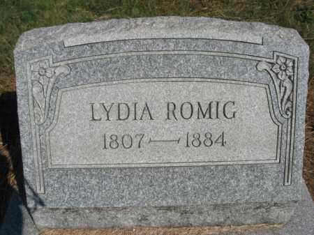 ROMIG, LYDIA - Lehigh County, Pennsylvania   LYDIA ROMIG - Pennsylvania Gravestone Photos