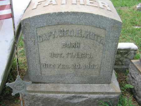 ROTH, CAPT.GEORGE B. - Lehigh County, Pennsylvania   CAPT.GEORGE B. ROTH - Pennsylvania Gravestone Photos
