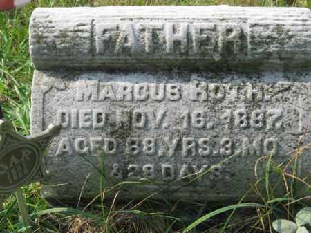 ROTH, MARCUS - Lehigh County, Pennsylvania   MARCUS ROTH - Pennsylvania Gravestone Photos