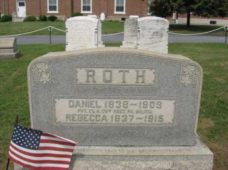 ROTH, REBECCA - Lehigh County, Pennsylvania | REBECCA ROTH - Pennsylvania Gravestone Photos