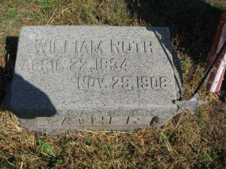 ROTH, WILLIAM - Lehigh County, Pennsylvania | WILLIAM ROTH - Pennsylvania Gravestone Photos