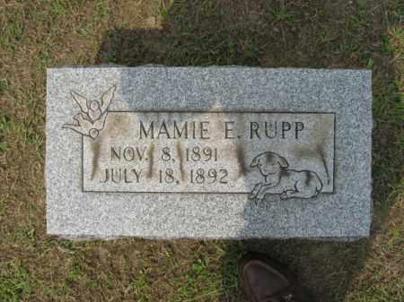 RUPP, MAMIE - Lehigh County, Pennsylvania   MAMIE RUPP - Pennsylvania Gravestone Photos