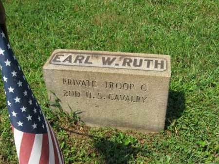 RUTH, EARL W. - Lehigh County, Pennsylvania   EARL W. RUTH - Pennsylvania Gravestone Photos