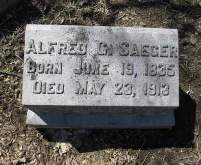 SAEGER (CW), ALFRED G. - Lehigh County, Pennsylvania   ALFRED G. SAEGER (CW) - Pennsylvania Gravestone Photos