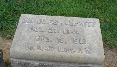 SAVITZ (CW), CHAR LES J. - Lehigh County, Pennsylvania | CHAR LES J. SAVITZ (CW) - Pennsylvania Gravestone Photos