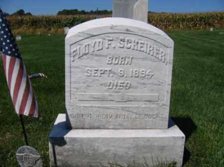 SCHEIRER, FLOYD F. - Lehigh County, Pennsylvania | FLOYD F. SCHEIRER - Pennsylvania Gravestone Photos