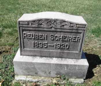SCHEIRER, REUBEN - Lehigh County, Pennsylvania | REUBEN SCHEIRER - Pennsylvania Gravestone Photos