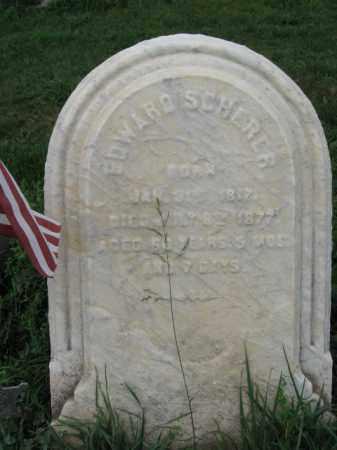 SCHERER, EDWARD - Lehigh County, Pennsylvania | EDWARD SCHERER - Pennsylvania Gravestone Photos