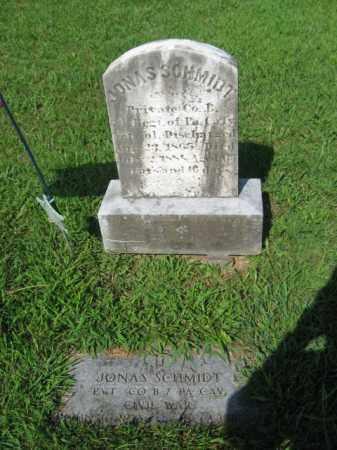 SCHMIDT  (CW), PVT.JONAS - Lehigh County, Pennsylvania   PVT.JONAS SCHMIDT  (CW) - Pennsylvania Gravestone Photos