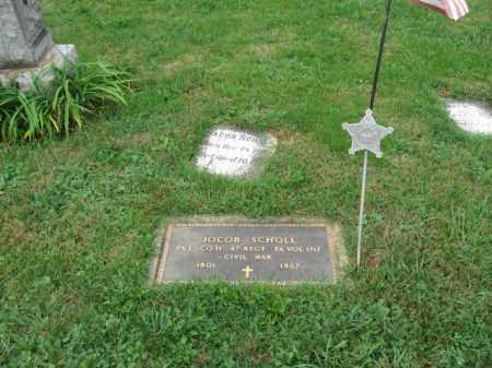 SCHOLL, JACOB - Lehigh County, Pennsylvania   JACOB SCHOLL - Pennsylvania Gravestone Photos