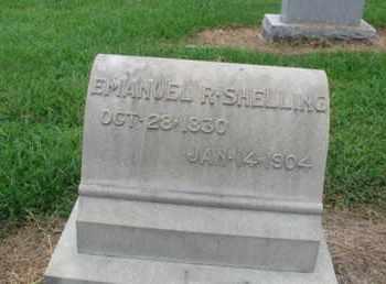 SHELLING (CW), EMANUEL R. - Lehigh County, Pennsylvania   EMANUEL R. SHELLING (CW) - Pennsylvania Gravestone Photos