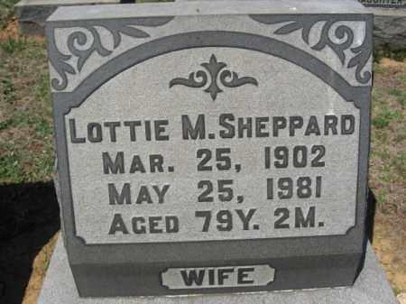 SHEPPARD, LOTTIE M. - Lehigh County, Pennsylvania   LOTTIE M. SHEPPARD - Pennsylvania Gravestone Photos