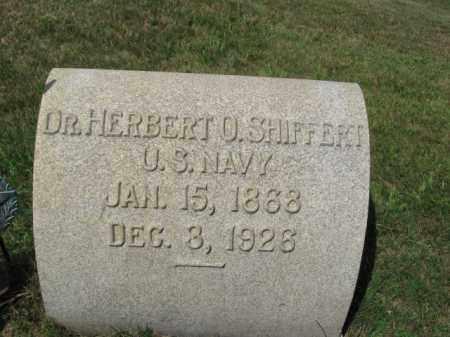 SHIFFERT, DR.HERBERT O. - Lehigh County, Pennsylvania | DR.HERBERT O. SHIFFERT - Pennsylvania Gravestone Photos