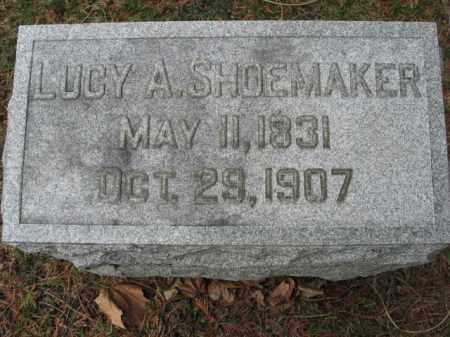 SHOEMAKER, LUCY A. - Lehigh County, Pennsylvania | LUCY A. SHOEMAKER - Pennsylvania Gravestone Photos