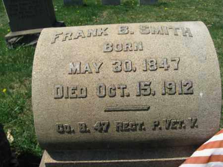SMITH  (CW), PVT.FRANK B. - Lehigh County, Pennsylvania | PVT.FRANK B. SMITH  (CW) - Pennsylvania Gravestone Photos