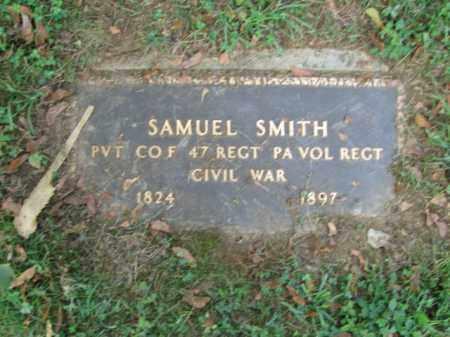 SMITH, PVT. SAMUEL - Lehigh County, Pennsylvania   PVT. SAMUEL SMITH - Pennsylvania Gravestone Photos