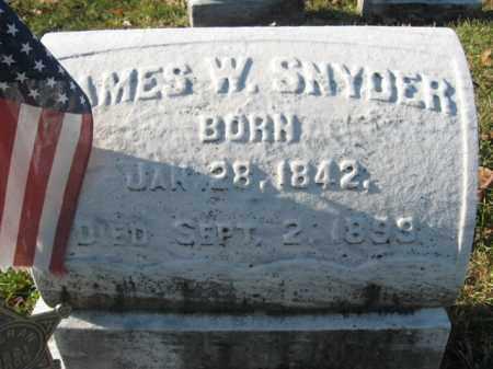 SNYDER, CORP. JAMES W. - Lehigh County, Pennsylvania   CORP. JAMES W. SNYDER - Pennsylvania Gravestone Photos