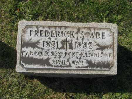STADE, FREDERICK - Lehigh County, Pennsylvania   FREDERICK STADE - Pennsylvania Gravestone Photos