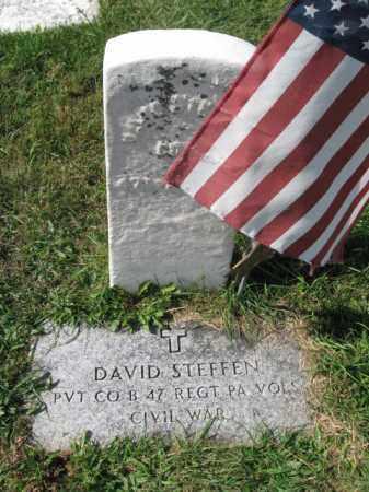 STEFFEN (CW), DAVID - Lehigh County, Pennsylvania | DAVID STEFFEN (CW) - Pennsylvania Gravestone Photos