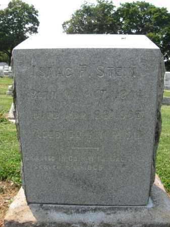 STEIN, ISAAC  F. - Lehigh County, Pennsylvania | ISAAC  F. STEIN - Pennsylvania Gravestone Photos