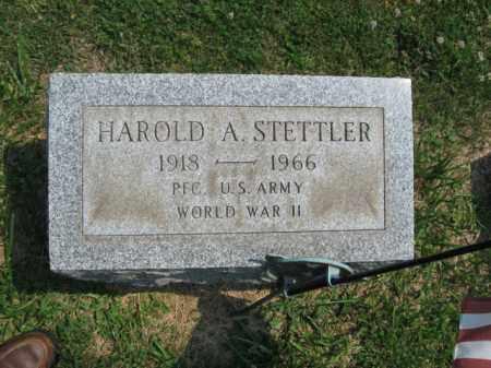 STETTLER, HAROLD  A. - Lehigh County, Pennsylvania | HAROLD  A. STETTLER - Pennsylvania Gravestone Photos