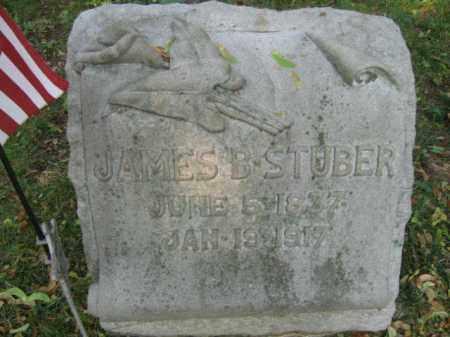 STUBER, JAMES B. - Lehigh County, Pennsylvania | JAMES B. STUBER - Pennsylvania Gravestone Photos
