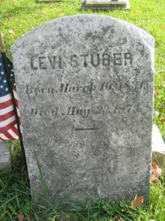 STUBER (CW), LEVI - Lehigh County, Pennsylvania | LEVI STUBER (CW) - Pennsylvania Gravestone Photos