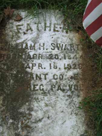SWARTZ, SGT. WILLIAM H. - Lehigh County, Pennsylvania | SGT. WILLIAM H. SWARTZ - Pennsylvania Gravestone Photos