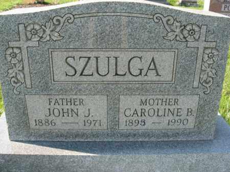 SZULGA, JOHN J. - Lehigh County, Pennsylvania | JOHN J. SZULGA - Pennsylvania Gravestone Photos