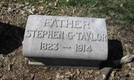 TAYLOR, STEPHEN G. - Lehigh County, Pennsylvania | STEPHEN G. TAYLOR - Pennsylvania Gravestone Photos