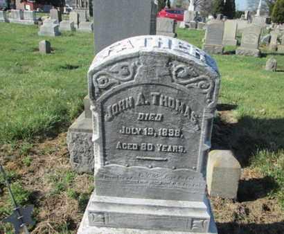 THOMAS (CW), JOHN - Lehigh County, Pennsylvania | JOHN THOMAS (CW) - Pennsylvania Gravestone Photos