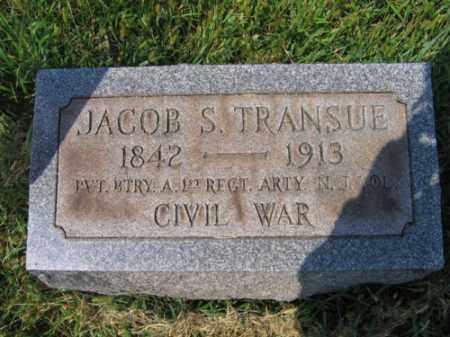 TRANSUE, JACOB S. - Lehigh County, Pennsylvania | JACOB S. TRANSUE - Pennsylvania Gravestone Photos