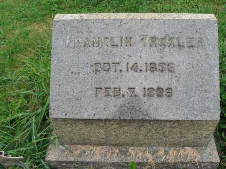 TREXLER, FRANKLIN - Lehigh County, Pennsylvania | FRANKLIN TREXLER - Pennsylvania Gravestone Photos