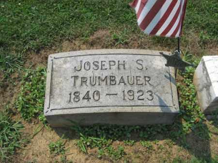 TRUMBAUER (CW), JOSEPH  S. - Lehigh County, Pennsylvania | JOSEPH  S. TRUMBAUER (CW) - Pennsylvania Gravestone Photos