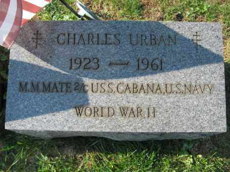 URBAN, CHARLES - Lehigh County, Pennsylvania | CHARLES URBAN - Pennsylvania Gravestone Photos