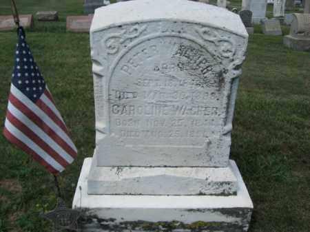 WAGNER, PETER - Lehigh County, Pennsylvania   PETER WAGNER - Pennsylvania Gravestone Photos