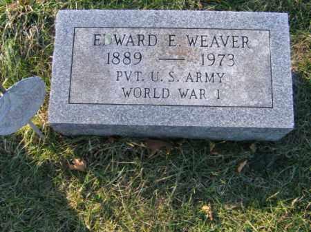 WEAVER, EDWARD E. - Lehigh County, Pennsylvania   EDWARD E. WEAVER - Pennsylvania Gravestone Photos