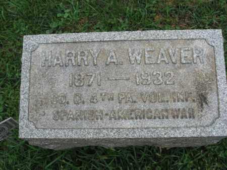WEAVER, HARRY A. - Lehigh County, Pennsylvania | HARRY A. WEAVER - Pennsylvania Gravestone Photos