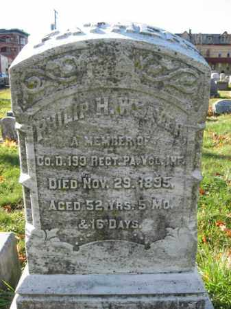 WEAVER, PVT.PHILLIP H - Lehigh County, Pennsylvania | PVT.PHILLIP H WEAVER - Pennsylvania Gravestone Photos