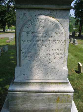 WEAVER, THEOPHILOS I. - Lehigh County, Pennsylvania | THEOPHILOS I. WEAVER - Pennsylvania Gravestone Photos