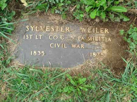 WEILEER, 1ST LT. SYLVESTER - Lehigh County, Pennsylvania | 1ST LT. SYLVESTER WEILEER - Pennsylvania Gravestone Photos