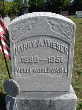 WEISER, HARRY A. - Lehigh County, Pennsylvania | HARRY A. WEISER - Pennsylvania Gravestone Photos