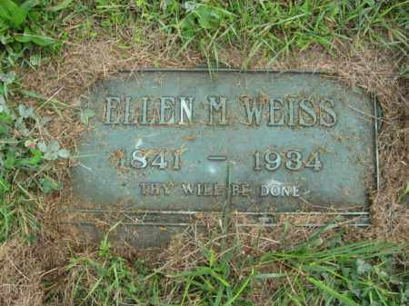WEISS, ELLEN M. - Lehigh County, Pennsylvania | ELLEN M. WEISS - Pennsylvania Gravestone Photos