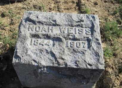 WEISS, NOAH - Lehigh County, Pennsylvania   NOAH WEISS - Pennsylvania Gravestone Photos