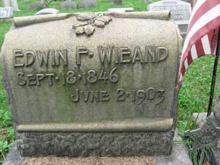 WIEAND, EDWIN F. - Lehigh County, Pennsylvania | EDWIN F. WIEAND - Pennsylvania Gravestone Photos