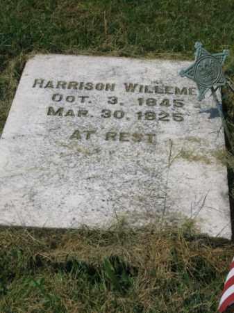 WILLEMET (CW), HARRISON - Lehigh County, Pennsylvania | HARRISON WILLEMET (CW) - Pennsylvania Gravestone Photos