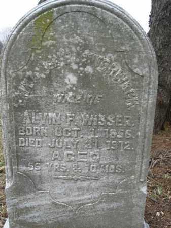 BUTTERWECK WISSER, EMMA - Lehigh County, Pennsylvania   EMMA BUTTERWECK WISSER - Pennsylvania Gravestone Photos