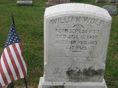 WOLF, WILLIAM - Lehigh County, Pennsylvania | WILLIAM WOLF - Pennsylvania Gravestone Photos