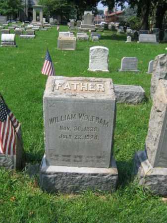 WOLFRAM, WILLIAM - Lehigh County, Pennsylvania | WILLIAM WOLFRAM - Pennsylvania Gravestone Photos