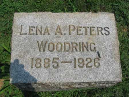 PETERS WOODING, LENA A. - Lehigh County, Pennsylvania | LENA A. PETERS WOODING - Pennsylvania Gravestone Photos